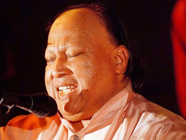 Nusrat Fateh Ali Khan, the qawwali maestro, left Pakistanis with a rich musical legacy. PHOTO: thefamouspeople.com