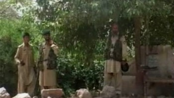 Security forces in Orakzai.