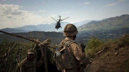 Military operations are ongoing in Orakzai to purge the area of militants. (AP)