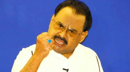 MQM Chief Altaf Hussain warns of quitting ruling coalition over Hyderabad issue.