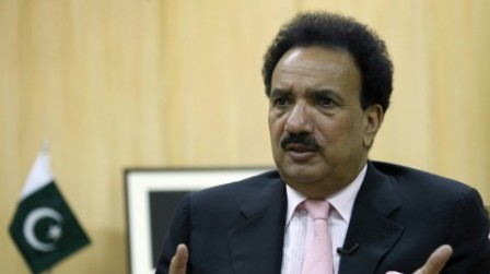 Interior Minister Rehman Malik announced Rs500,000 for information regarding missing people. PHOTO: REUTERS