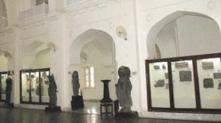 A view of the Gandhara art gallery. PHOTO: SABA IMTIAZ