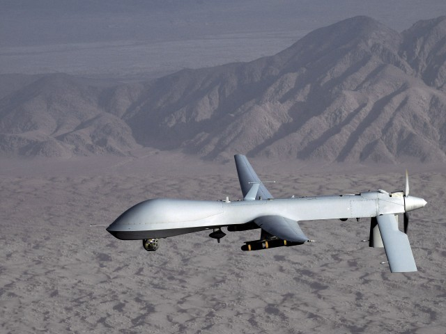 US drone strikes killed 16 in South Waziristan. PHOTO: EPA