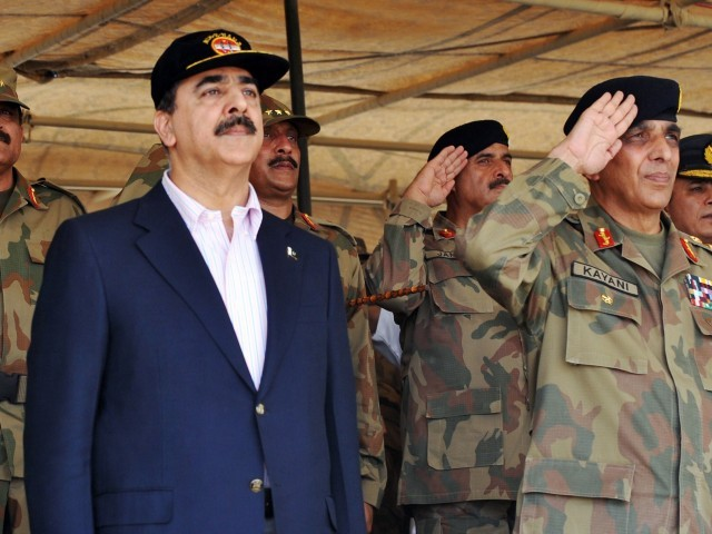 The army under Kayani is still playing a role much beyond its constitutional limits. PHOTO: AFP