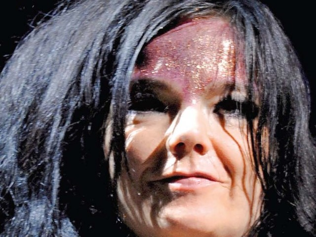 Proceeds from Bjork's new single will go to Unicef's flood relief efforts in Pakistan. PHOTO: EPA