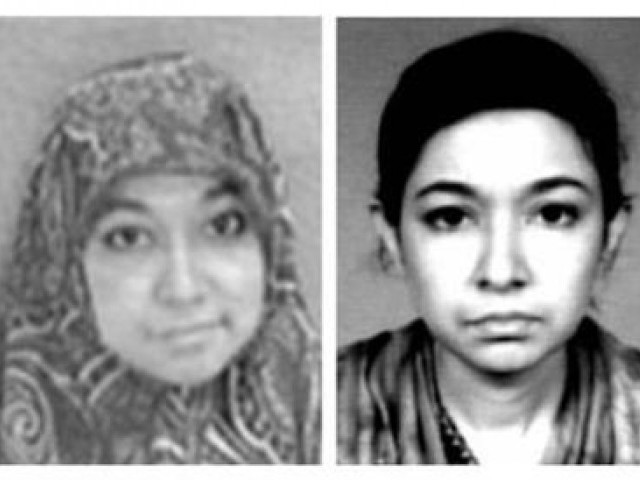 A file photo of Dr Aafia Siddiqui. PHOTO: REUTERS