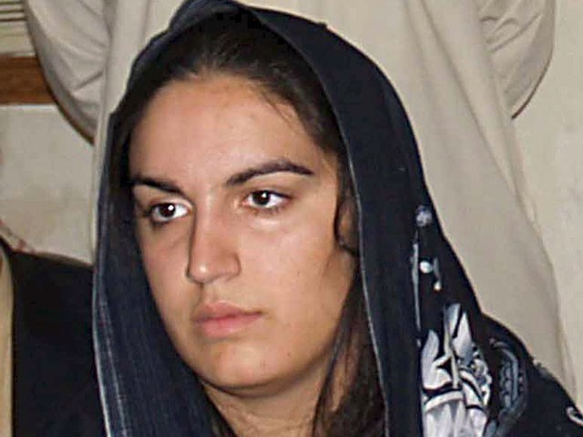 Bakhtawar Bhutto Zardari comes to Pakistan to ensure provision of relief aid. PHOTO: EPA