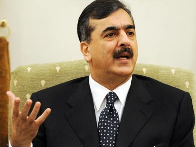 PM Gilani says he does not support any fake degree holders. PHOTO:AFP