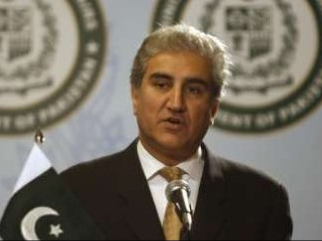 Foreign Minister Shah Mehmood Qureshi said he had briefed the UN General Secretary on Pakistan's flood disaster. PHOTO: REUTERS