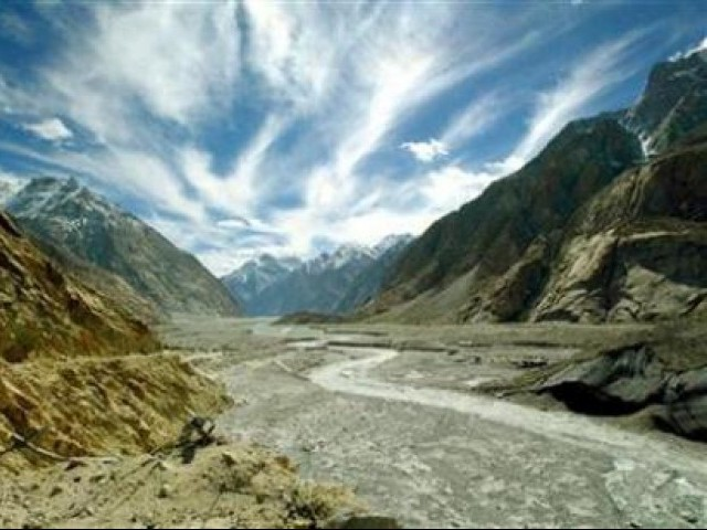 The pace of melting glaciers in Pakistan is faster than any other country. PHOTO: REUTERS