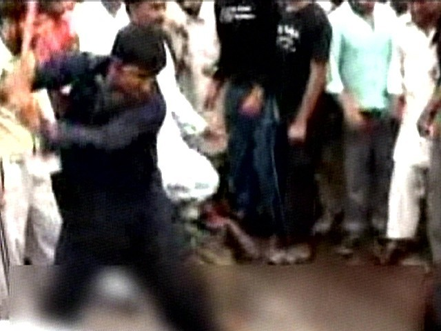 Family of 2 brothers who were tortured and killed by a mob blame the police.