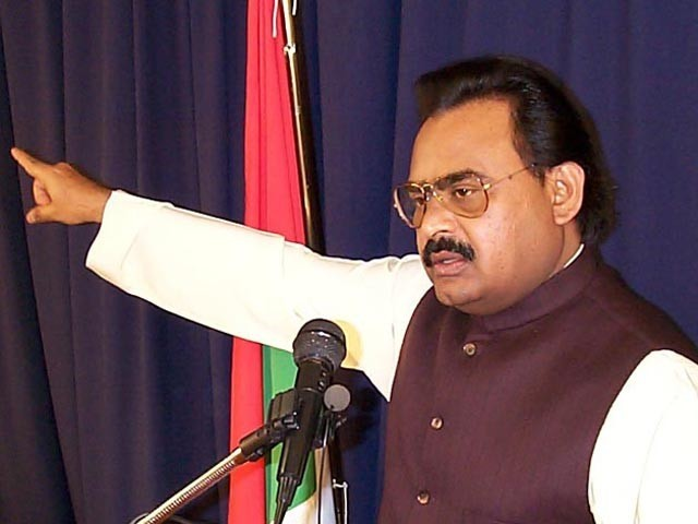 Altaf Hussain said that Pakistan will see a revolution like that of France. PHOTO: MQM.ORG