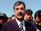 Gilani says governments cannot be changed through speculation alone. PHOTO: EPA