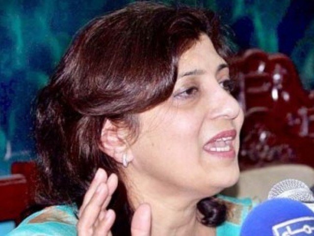 Fauzia Wahab has accused the Punjab government of not only ignoring the banned outfit Jamaat-ud-Dawa's (JuD) regrouping but of helping the organisation reestablish itself. PHOTO: APP