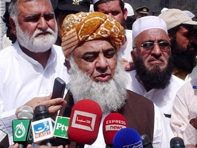 The JUI-F chief fears crisis might be disastrous for the country