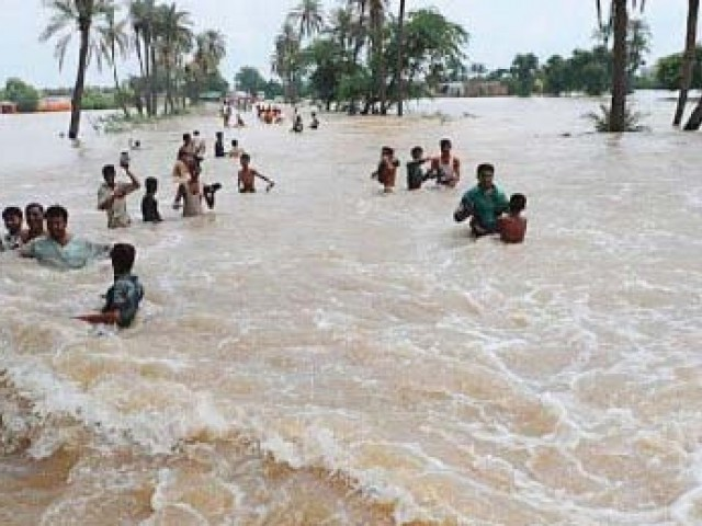 Pakistan is facing pressure to raise money to pay for post-flood rehabilitation. PHOTO: AFP