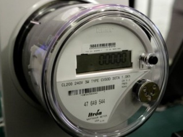 how to take electric meter reading