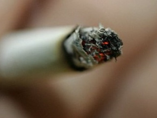98,640 people die of tobacco-related diseases every year in Pakistan.  PHOTO: AP