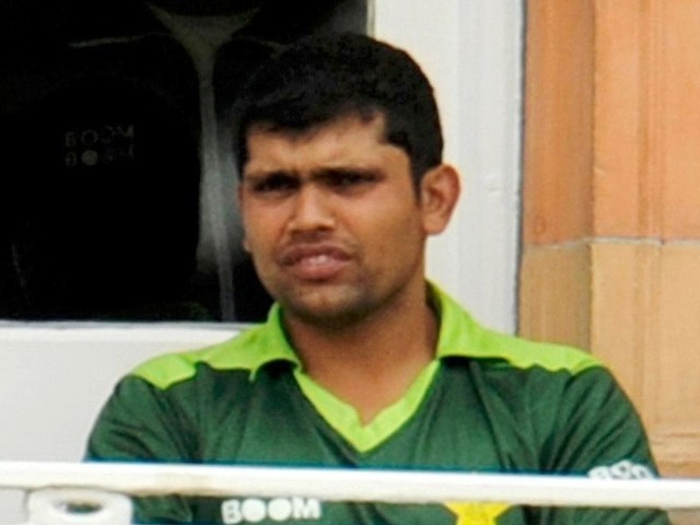 Akmal, who was ruled out of Pakistan's recent series against South Africa in the UAE after surgery for appendicitis, has been at the centre of match-fixing allegations. PHOTO: REUTERS