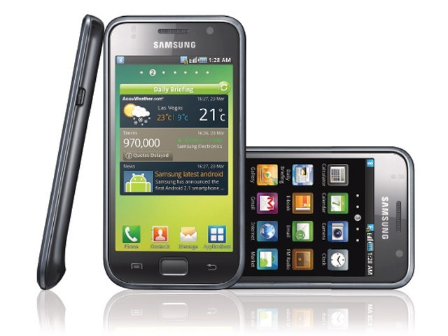 The Galaxy S aims to compete with the iPhone, HTC