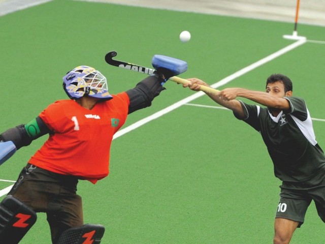 Reaching the semi-finals of the Asian Games has provided Pakistan some respite after a poor run of results in the year following a last-place finish at the World Cup and sixth in the Commonwealth Games. PHOTO: AFP