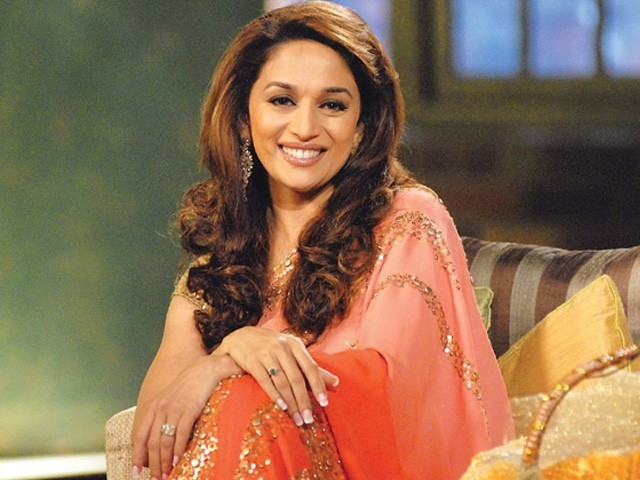 Madhuri Dixit says her sons like songs from her films Devdas and Aaja Nachle. PHOTO: FILE