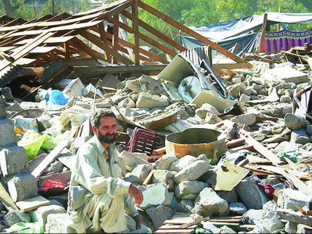 Areas hit by the 2005 earthquake are still being rehabilitated. PHOTO: FILE