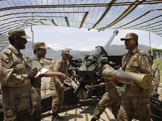 Army continues operations against militants in Orakzai Agency.