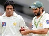 Former captain Imran Khan believes Pakistan's chances at the cricket World Cup will depend on the verdict reached against bowlers Mohammad Asif and Mohammad Amir in the spot-fixing inquiry. PHOTO: AFP FILE