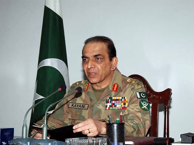 Chief of Army Staff (COAS) General Ashfaq Parvez Kayani visited Karachi on Tuesday. PHOTO: PPI