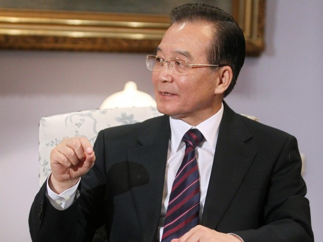 Jiabao's visit to Pakistan. PHOTO: FILE/EPA