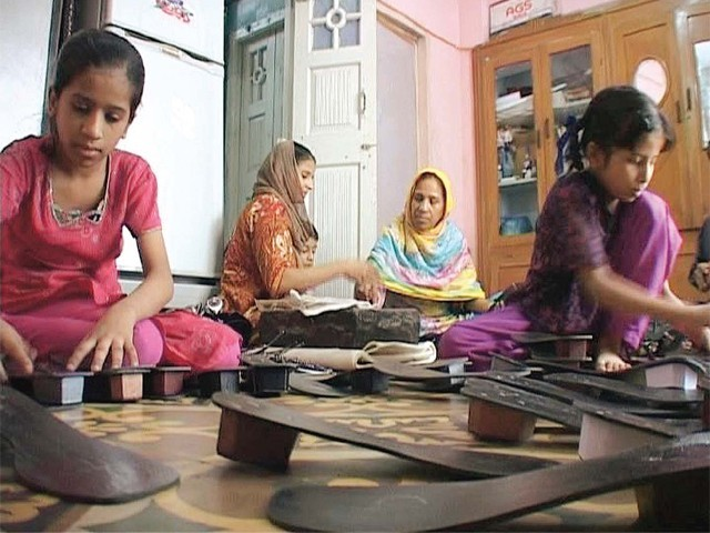 The documentary tells the story of women workers in Pakistan. PHOTO: PUBLICITY