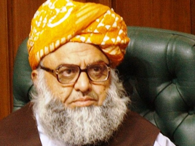 The party chief, Maulana Fazlur Rehman, also criticsed the role of Salman Taseer with regard to the blasphemy law. PHOTO: EPA/FILE