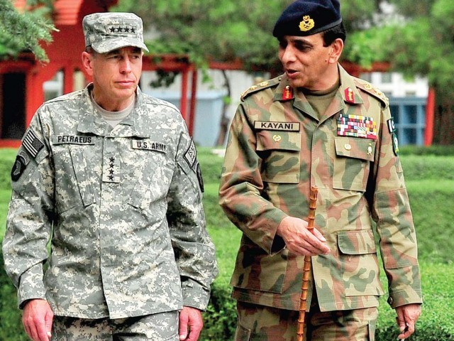 The success achieved by Pakistani forces under General Kayani has been appreciated by then US Centcom Commander General David Petraeus and the US Secretary of Defence Robert Gates. PHOTO: EPA