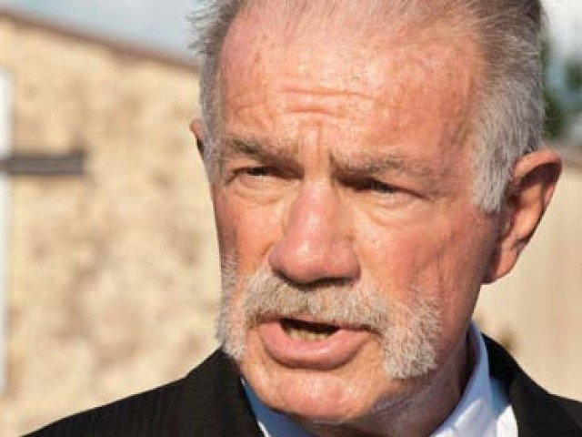 "Pastor Terry Jones expected to speak against ""the destructiveness of Islam"". PHOTO: FILE"