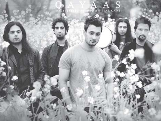 Qayaas band plans to release their second album in English language. PHOTO: PUBLICITY