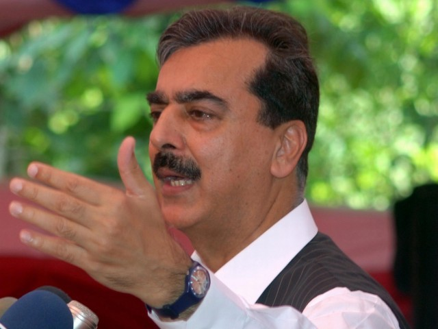 Documents reveal that Gilani said the government would protest the attacks in National Assembly, then ignore them. PHOTO: EPA