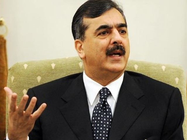 Gilani said drone strikes were increasing problems for Pakistan. PHOTO: FILE/AFP