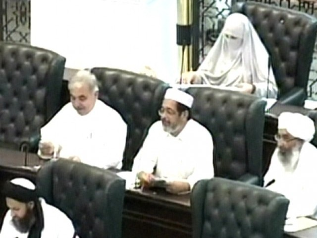The resolution was tabled by JUI-F member Zarqa Bibi during the Khyber Pakhtunkhwa assembly's session.