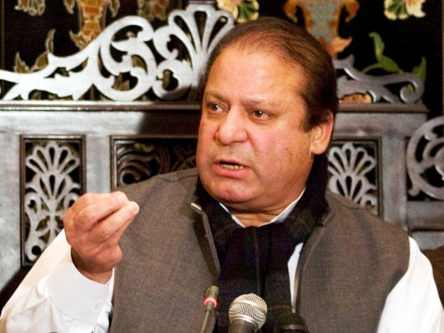 Leaked documents reveal US showed willingness to work with Nawaz if he won the elections. PHOTO: EPA