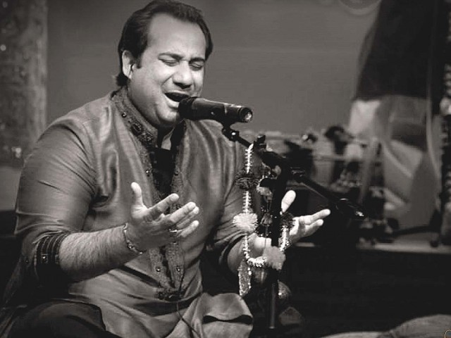 Rahat Fateh Ali Khan made it big with multiple hits in Bollywood. PHOTO:FILE