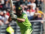 Shahid Afridi blasted the equal-fastest half century in New Zealand. PHOTO: AFP