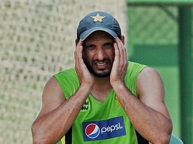 Afridi fined 20% of his match fee, while team mates will lose 10% for their slow over rate against Sri Lanka. PHOTO: AFP