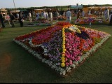 The 60th Pakistan Flower Show 2011 opened at DHA Seaview Public Park on Thursday evening. The show has been organised by the Horticultural Society of Pakistan, Defence Housing Authority and Cantonment Board Clifton. PHOTO: ATHAR KHAN/EXPRESS