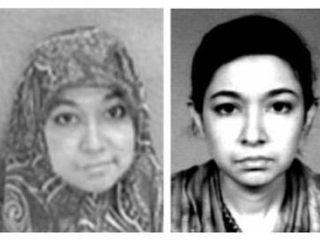 Alleged conversation with police officer released by Aafia's representatives.