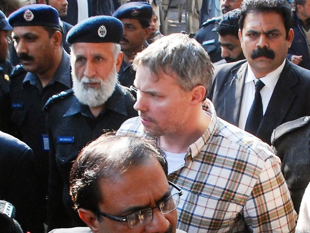 Phone records of Davis show that he had ties with 33 Pakistanis, including 27 from TTP and LeJ. PHOTO: FILE