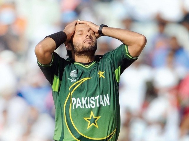 Afridi says his statements were taken out of context. PHOTO : AFP