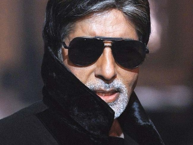 Amitabh Bachchan's blogs have an average word-count of 5,000 per week. PHOTO: AFP