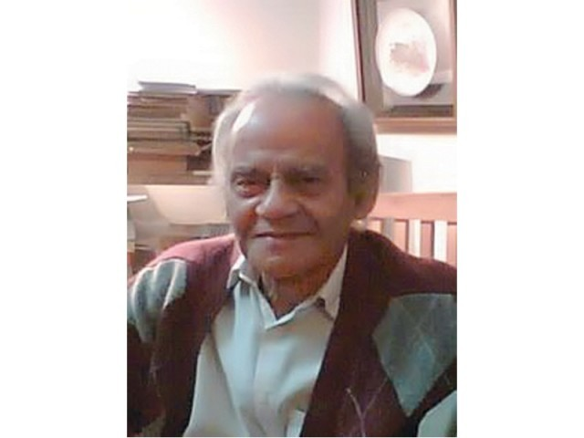 The renowned Urdu writer, author of several poetry and prose tomes,  was 83.