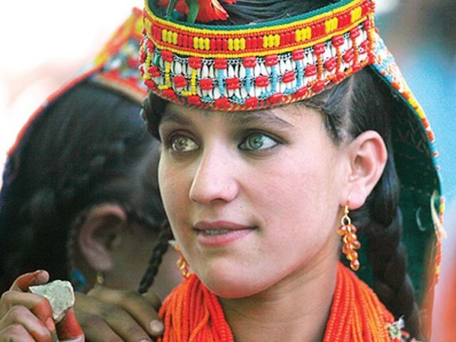 Kalash women fall for non-Kalash men. PHOTO: FILE